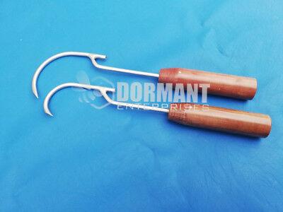 Wire Passer 45mm And 70mm Fiber Handle Set Of 2 Pcs Orthopedic Instruments