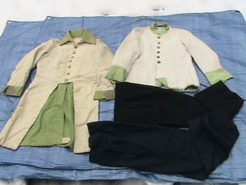 OLD FRENCH UNIFORMS with TROUSERS - 2 SETS - BARGAIN !!!