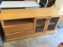 PRICE REDUCED - SOLID PINE WOOD TV UNIT ON SALE NOW Bentley Canning Area Preview