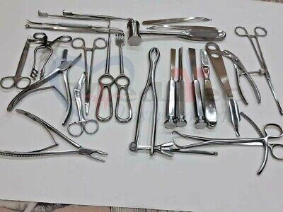 Basic Orthopedic Surgery Set Of 25 Pcs Surgical Instruments Set By Mti