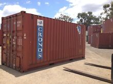20 HC SHIPPING CONTAINERS AS IS WIND & WATER TIGHT - ALMOST GONE Frenchville Rockhampton City Preview