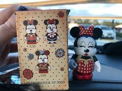 Disney Vinylmation Minnie Mouse Eachez 2017 LIMITED EDITION