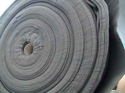 Schaumstoff,grau,ca. 110+/- lfm x 160c , Stärke 12,5mm,Sonderpreis ab 5 Rollen