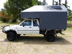 Toyota Hilux slide on camper campervan motorhome camping van 4x4 Alexandria Inner Sydney Preview