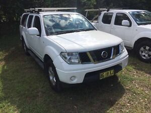 Nissan Navara ST 2010 Diesel 4x4 Tennyson Point Ryde Area Preview