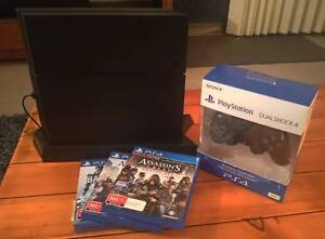 PS4 Console 500GB, new controller + games Manly Manly Area Preview