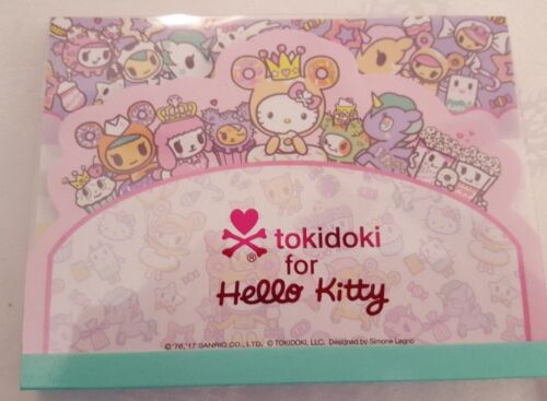 Sanrio Hello Kitty Notepad Tokidoki Tiered Blue