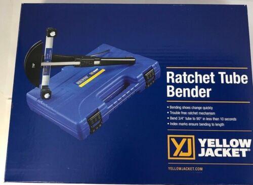 "Yellow Jacket 60331 - Ratcheting Hand Tube Bender 1/4″, 5/16″, 3/8,1/2″,5/8"",7/8"