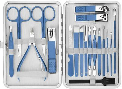 EIVOTOR Profesional Set de Manicura Pedicura, Set Manicura, Set de Manicura y