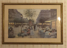 Framed print Paris scene c1900 Hunters Hill Hunters Hill Area Preview