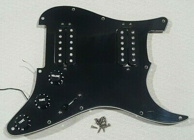 Fender Replacement EMG SAV IVORY 3 PICKUP STRAT SET FREE WORLDWIDE SHIPPING