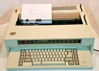 Ibm Wheelwriter 3 Series Ii Typewriter Type 6782 Tested See Pics
