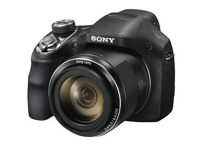 Sony DSC-H300 20.1mp Sensor 720p 35x Optical Zoom Bridge Digital Camera - Black