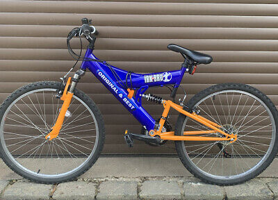 Boys Mountain Bike Irn Bru 26inch Wheel