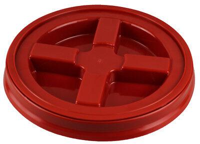 Gamma Seal Deckel rot wasserdicht Handwäsche Galloneneimer - Red Grit Guard