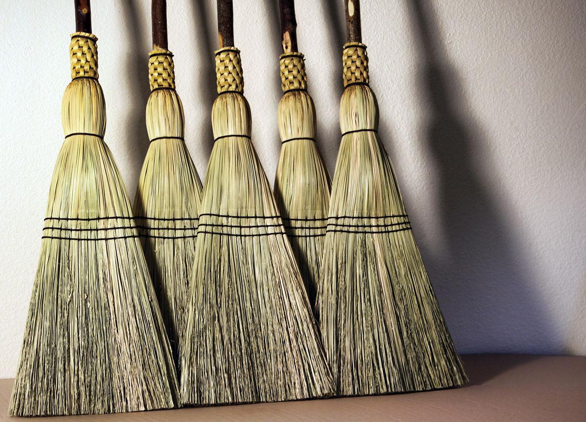 How To Make Broom Corn Brooms Ebay