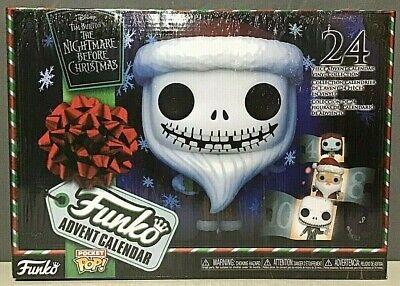 Funko Advent Calendar: The Nightmare Before Christmas - 24 Pocket Pop! - NEW