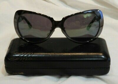 Versace Shiny Gray Frames Sunglasses in Versace Case - Made in Italy