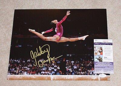 Gabby Douglas Signed 11X14 Photo Jsa Coa Rio Olympics Final Five Gold Medal  4