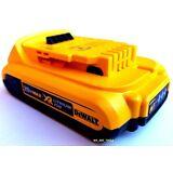 (1) New GENUINE Dewalt 20V DCB203 2.0 AH MAX XR Battery 20 Volt For Drill, Saw