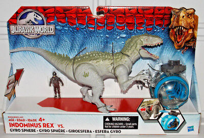 Jurassic World Park Indominus Rex Vs  Gyrosphere Pack Dinosaur Toy Action Figure