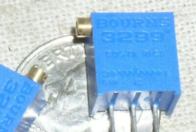 2 Bourns 3299 X 104 100k Ohm Trimpot Pot Trimmer 25 Turn 25t Potentiometer Usa