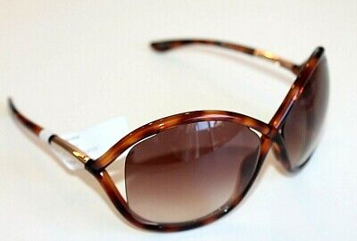 Tom Ford Sunglasses  Whitney Transparent Brown Over sided TF9 52F new