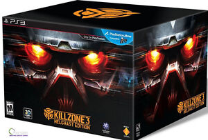 NEW Killzone 3 Helghast Edition Sony Playstation 3 Hellghast Kill Zone Collector