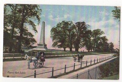 Phoenix Park Dublin Ireland Vintage Postcard 812b