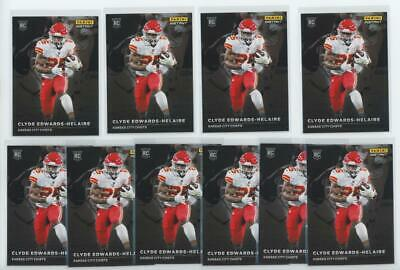 2020 Panini Instant #RS11 Clyde Edwards Helaire 1/1155 RC Rookie Lot of 10