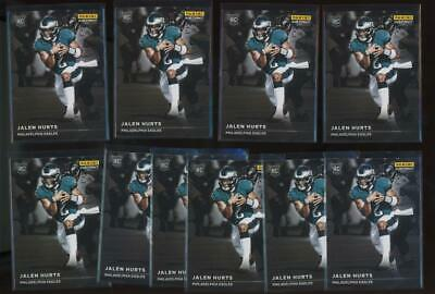 2020 Panini Instant #RS7 Jalen Hurts 1/1155 RC Rookie Lot of 10