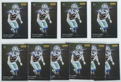 2020 Panini Instant #RS14 CeeDee Lamb 1/1155 RC Rookie Lot of 10