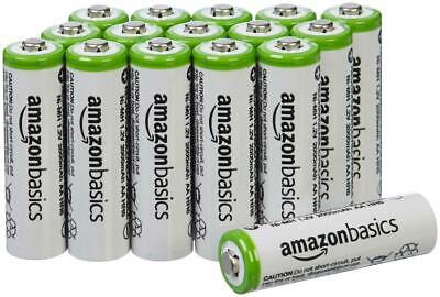 4/8/12/16 Pack AmazonBasics Rechargeable Batteries AA/AAA Re
