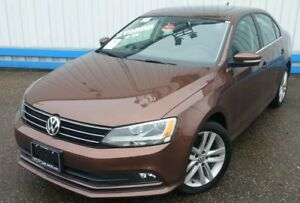 2016 Volkswagen Jetta Highline TSI *LEATHER-SUNROOF*