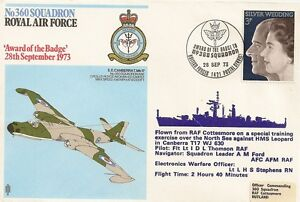 LETTRE-AVIATION-ROYAL-AIR-FORCE-AWARD-OF-THE-BADGE-1973