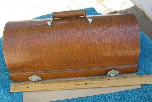 Antique Edison Home Cylinder Phonograph Lid with Latches & Handle~Stock 2b