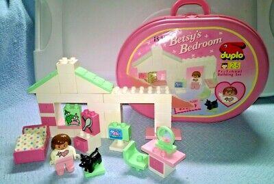 Vintage Lego DUPLO 1993 Betsy's Bedroom #1540 Complete 34+ Pcs.