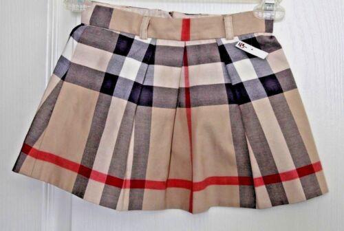 #79 Burberry Children Serena Nova Check Skirt  Sz 4Y  $180
