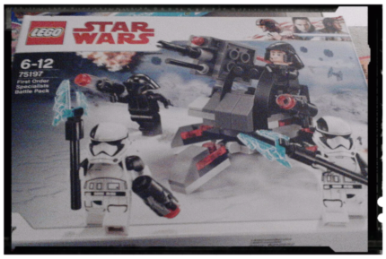 Star Wars LEGO new Battle Pack