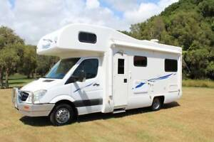 2010 Mercedes Dream Seeker Motorhome Automatic 24ft Tweed Heads South Tweed Heads Area Preview