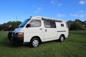 2004 Toyota Hiace 3.0litre Diesel Campervan Only 96,000km