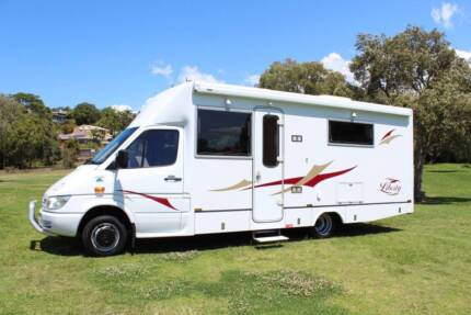 Paradise Liberty  Slide Out Motorhome Loaded with Extras Tweed Heads South Tweed Heads Area Preview