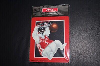 Coca Cola Mauspad, Basketball Bär, Mousepad, OVP (Maus-pad-basketball)