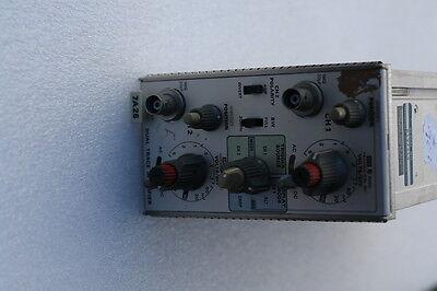 Tektronix 7a26 Dual Trace Amplifier Plug-in For Oscilloscope