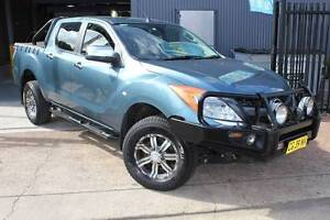 2012 MAZDA BT-50 GT TURBO DIESEL AUTOMATIC (4X4) Holroyd Parramatta Area Preview