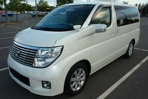 2007 E51 SERIES 2 NISSAN ELGRAND V6 RWD WAGON WITH CRUISE CONTROL Biggera Waters Gold Coast City Preview