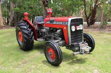 MASSEY FERGUSON TRACTOR  & SHED FULL OF IMPLEMENTS Lake Macquarie Area Preview