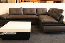 【Brand New】 Full Real Leather Corner Sofa Lounge Suite Chaise Set Nunawading Whitehorse Area Preview