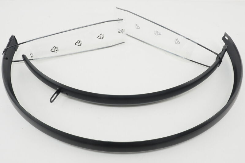 Unbranded Bicycle Fenders (Front + Rear) Fits 700c Wheels Aluminum Alloy