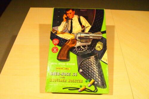 1959 Mattel Official Detective Snub-Nose .38 Shootin-Shell Cap Gun